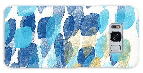 Waterfall- Abstract Art By Linda Woods Galaxy Case by Linda Woods