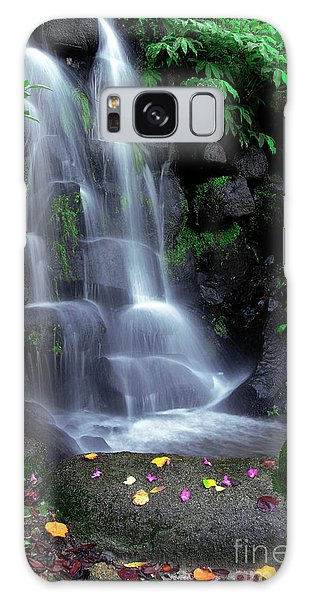 Nature Galaxy Case - Waterfall by Carlos Caetano