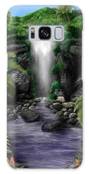Waterfall Creek Galaxy Case