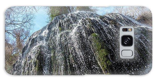 Waterfall From Below Galaxy Case