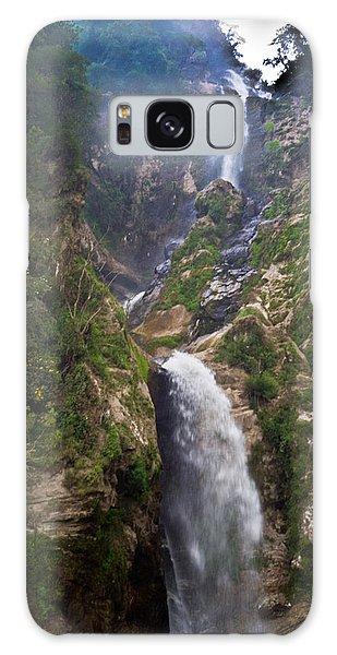 Waterfall Highlands Of Guatemala 1 Galaxy Case