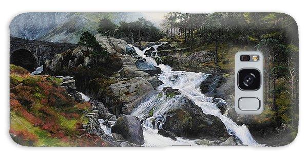 Waterfall In February. Galaxy Case