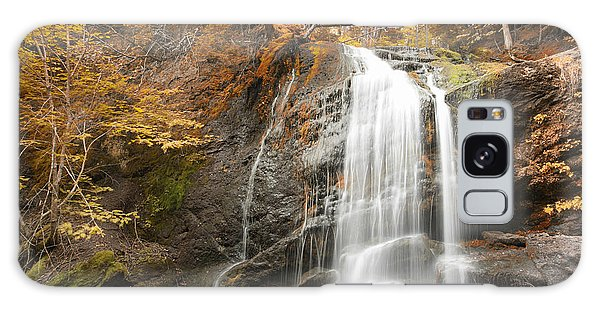 Waterfall In Fundy National Park New Brunswick Canada Galaxy Case