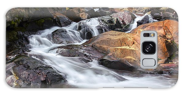 Waterfall In Lee Vining Canyon 2 Galaxy Case