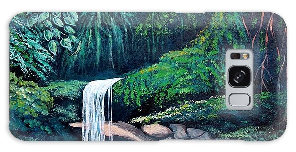 Waterfall In The Forest Galaxy Case