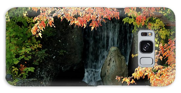 Waterfall In The Garden Galaxy Case