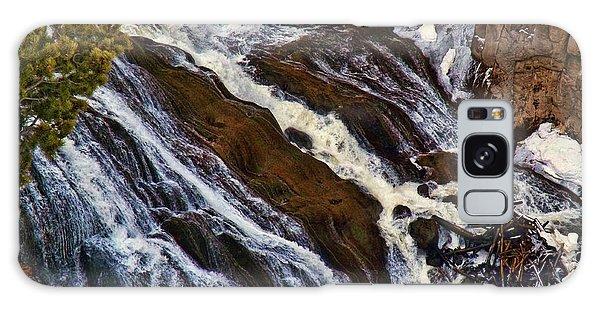 Waterfall In Yellowstone Galaxy Case