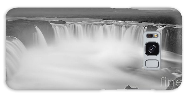 Waterfall Of The Gods Iceland Galaxy Case by Gunnar Orn Arnason