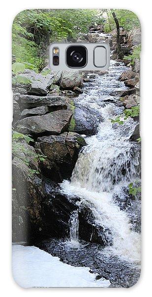 Waterfall Pillsbury State Park Galaxy Case