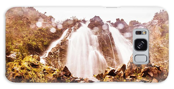 Horizontal Galaxy Case - Waterfall Scenics  by Jorgo Photography - Wall Art Gallery