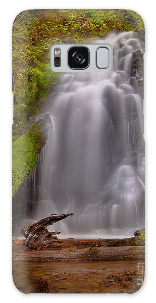 Waterfall Showers Galaxy Case