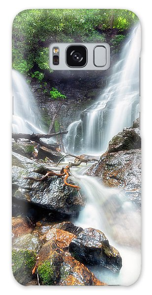 Waterfall Silence Galaxy Case