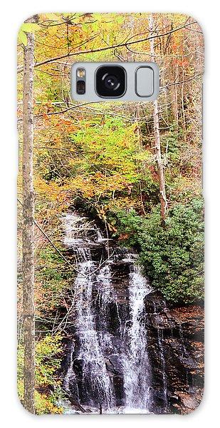 Waterfall Waters Galaxy Case