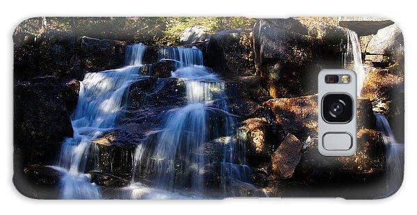 Waterfall, Whitewall Brook Galaxy Case