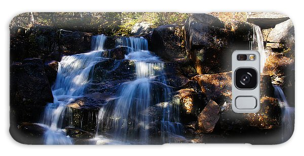 Waterfall, Whitewall Brook Galaxy Case