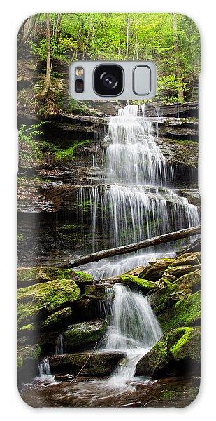 Wellsboro Galaxy Case - Waterfalls Along The Turkey Path Trail by Carolyn Derstine