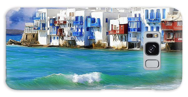 Waterfront At Mykonos Galaxy Case