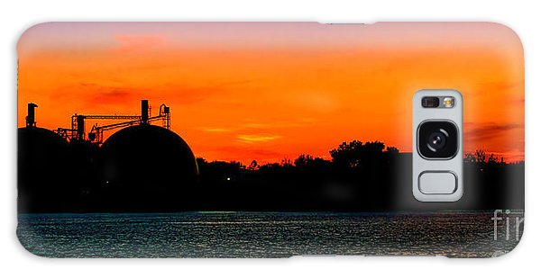 Catwalk Galaxy S8 Case - Waterfront Dusk by Olivier Le Queinec