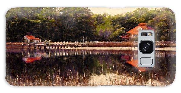 Waterfront Paradise Galaxy Case by Dan Carmichael
