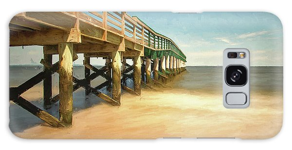 Galaxy Case featuring the photograph Waterfront Park Pier 1 by Gary Slawsky