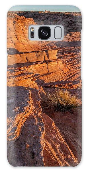 Waterhole Canyon Sunset Vista Galaxy Case