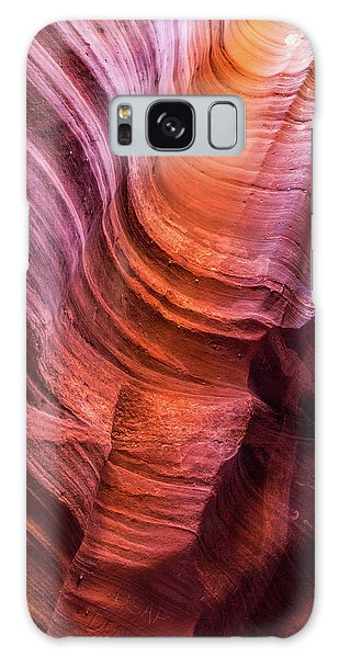 Waterholes Canyon Ribbon Candy Galaxy Case