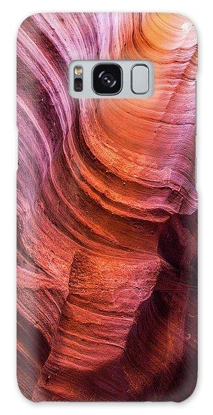 Waterholes Canyon Ribbon Candy Galaxy Case
