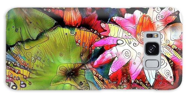 Waterlilies 15 Galaxy Case