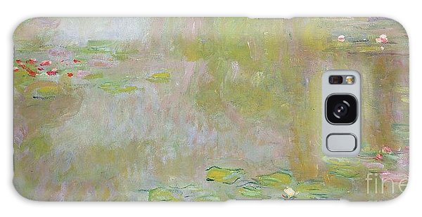 Waterlilies At Giverny Galaxy Case
