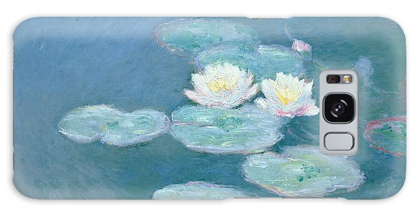 Evening Galaxy Case - Waterlilies Evening by Claude Monet