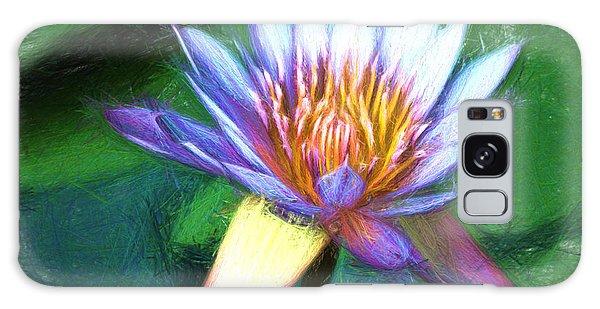 Waterlily Sketch Galaxy Case