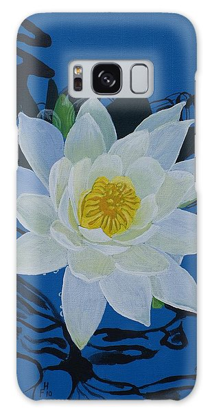 Waterlily Galaxy Case