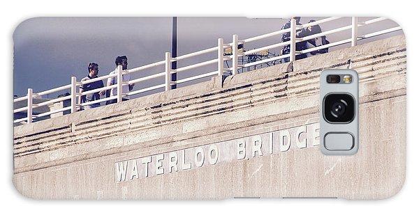 Galaxy Case featuring the photograph Waterloo Bridge by Rasma Bertz