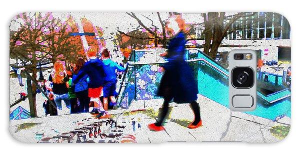 Waterloo Street Scene Galaxy Case