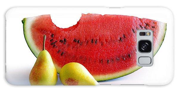 Watermelon And Pears Galaxy Case by Carlos Caetano