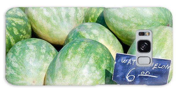 Watermelons With A Price Sign Galaxy Case by Paul Velgos