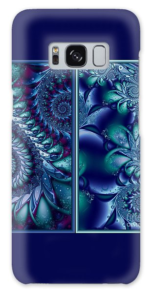 Waters Of The Caribbean Galaxy Case by Michelle H