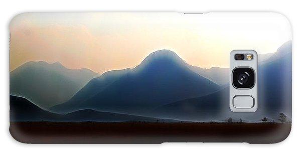 Waterton - Mountain Panorama Galaxy Case by Stuart Turnbull