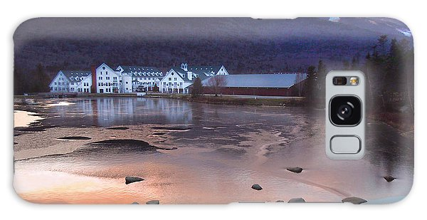 Waterville Valley Sunset Galaxy Case