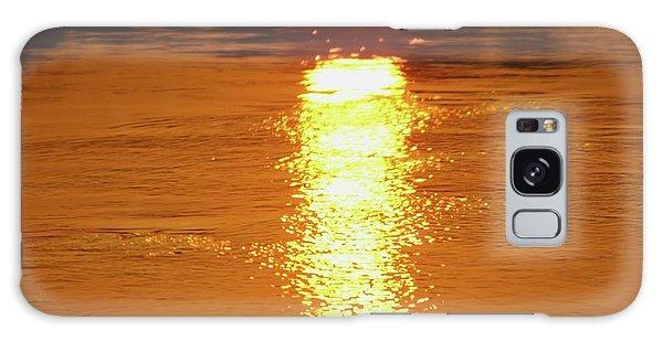 Watery Sunset Galaxy Case by Martina Fagan