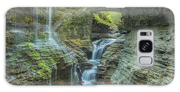 Galaxy Case featuring the photograph Watkins Glen 07 Panorama by Jim Dollar