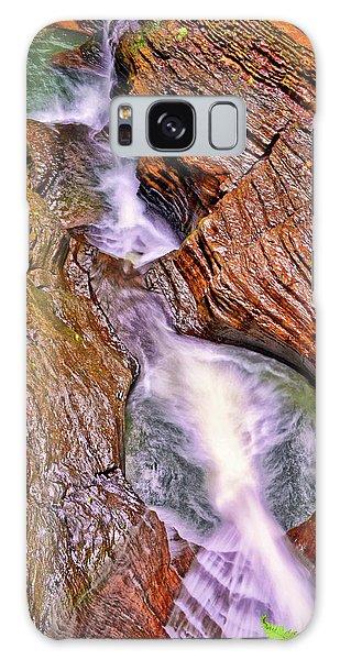 Watkins Glen - Rainbow Falls 005 Galaxy Case