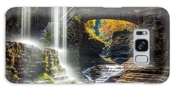 Watkins Glen State Park Galaxy Case