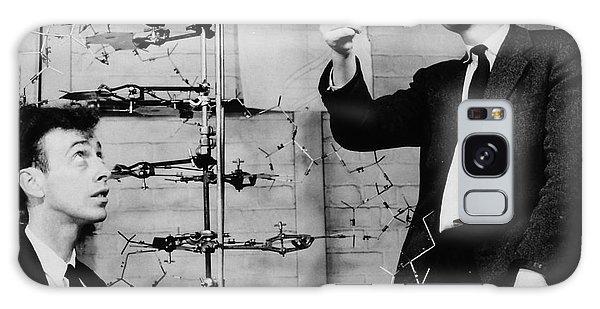 Watson And Crick Galaxy Case