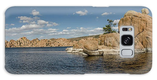 Watson Lake Panorama Galaxy Case