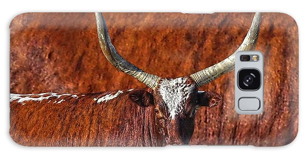 Watusi Blues In Rustic Red Galaxy Case