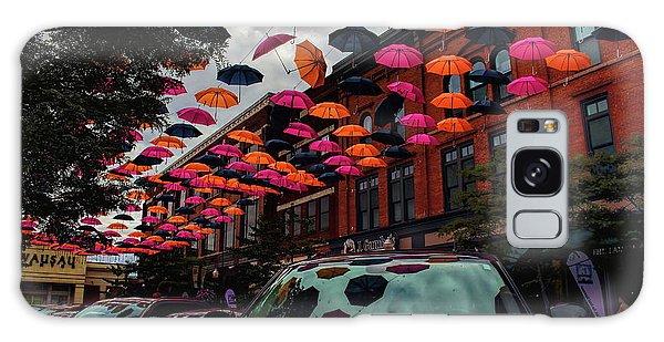 Wausau's Downtown Umbrellas Galaxy Case