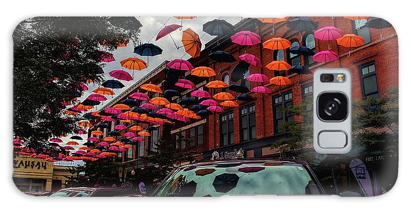 Wausau's Downtown Umbrellas Galaxy Case