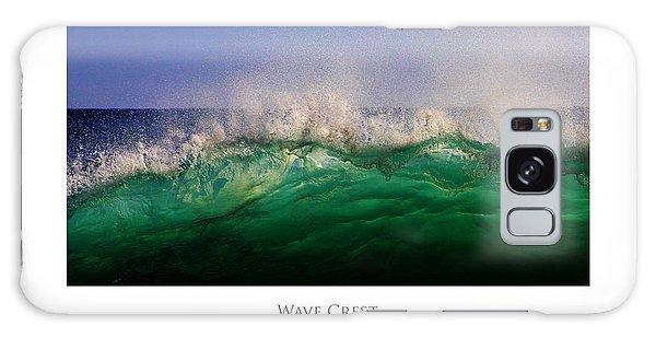 Wave Crest Galaxy Case