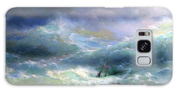 Wave  Ivan Aivazovsky 1889 Galaxy Case